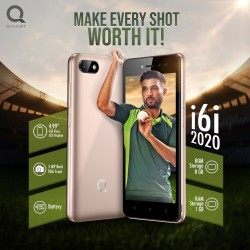 "QMobile i6i 2020, 4.99"" Display, 1GB RAM, 8GB ROM, Smart Front/5MP Back Camera 2000 mAh Battery"