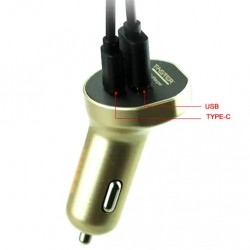 FASTER FCC-700 Type-C USB Port Car Charger 3.2A