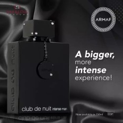 ARMAF CLUB DE NUIT INTENSE FOR MEN 150 ML EDP