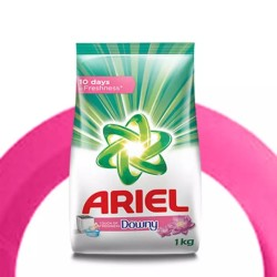 Ariel Touch of Downy, Washing Powder Detergent - 1 kg Pack
