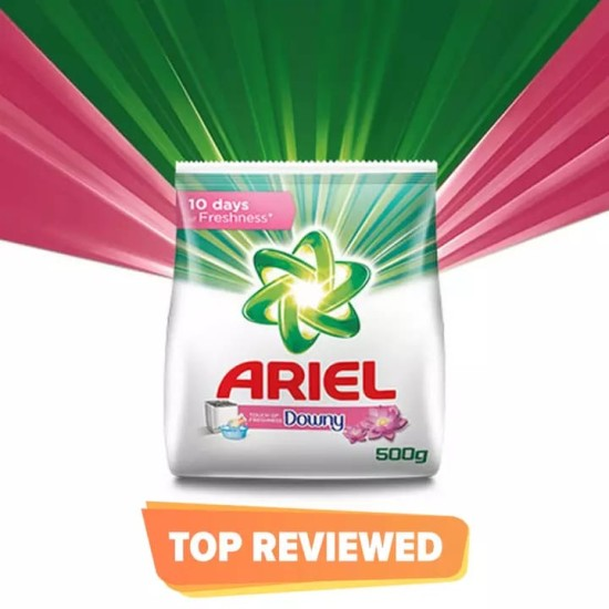 Ariel Touch of Downy Detergent Washing Powder, 500g pack