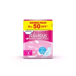 Always FeatherSoft 2in1 Long, Trios