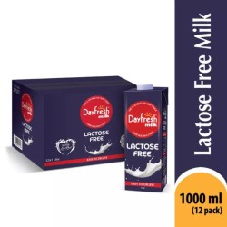 Pack of 12 Dayfresh Lactose Free Milk 1 Ltr