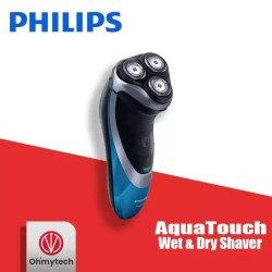Philips AquaTouch Wet and Dry Electric Shaver for Men - AT890/90