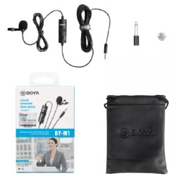 Boya BY M1 Lavalier Collar Microphone For All Devices