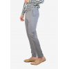 Impeccable Grey Stretchable Chino