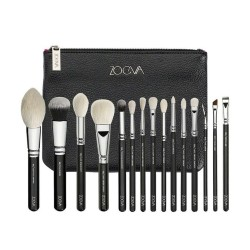 Zoeva 15/Pcs Brushes New Black Pouch