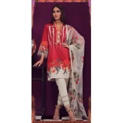 FANCY LUXURY HEAVY LAWN EMBROIDERED