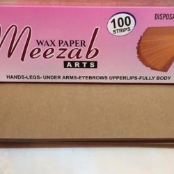 Meezab art wax paper Pack of 100 papers