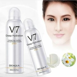 BIOAQUA V7 Deep Hydration Instant Tone Up Effect with 7 Vitamins Spray Men & Women