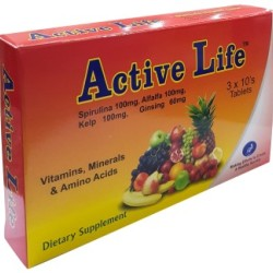 Active Life -Energy Supplement