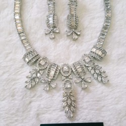 Unique Necklace With Earrings
