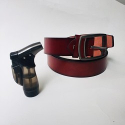 DEAL PACK OF 2 BELT WITH STYLISH LIGHTER