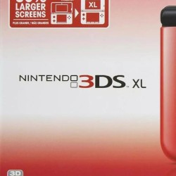 3DS XL - PAL - Red and Black