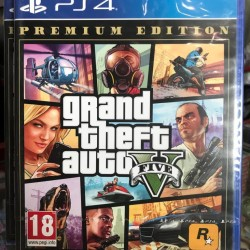Grand Theft Auto V for PS4 - GTA 5 - PlayStation 4
