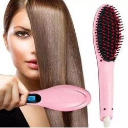 Fast Hair Straightener Electrical Brush