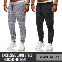 Pack Of 2 Exclusive Campo Style Trouser For Men