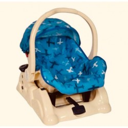 Tinnies Baby Car Seat Blue