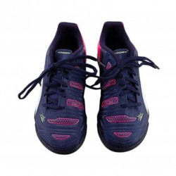 Puma Leather Football Shoes for Boys  Navy Blue & Red
