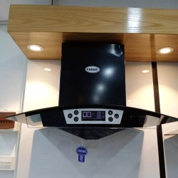 Canon Range Hood CSK 3000 90cm Coated Chimny With Square Neck Touch 9 L E D Bulb