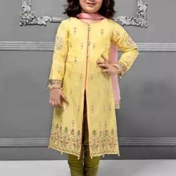 Embroidered Lawn Kid's Suit