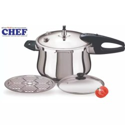 CHEF Pressure Cooker Stainless Steel 3 in 1 - [11 Liter]