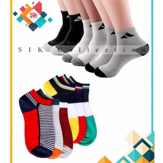Pack of 03 – Imported China High Quality Ankle Dress Socks For Men