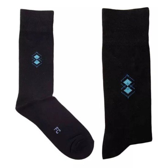 09 Pairs – Exported Cotton Dress Socks for Men