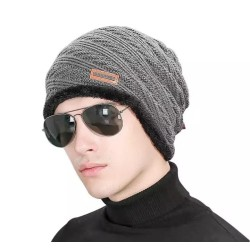 1 x - Winter Warm Cap for Men