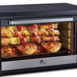 E-LITE ETO-653R – OVEN TOASTER – 65 LTR – BLACK – 2 YEARS WARRANTY