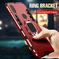 Honor 8x Cover Shockproof Magnetic Ring Case Cover