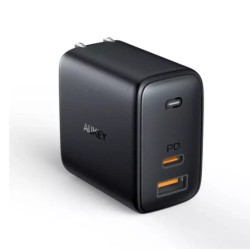 Aukey OMNIA Mix 65W Dual-Port PD Charger (PA-B3)