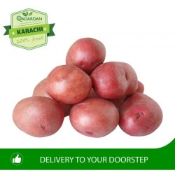 FRESH RED POTATOES 1KG (Small Size)
