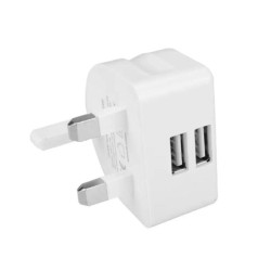 Dual Usb Port Moon Charger Adapter - Multicolor