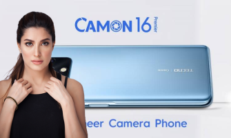 Camon 16 launches in Pakistan unveiling the documentary Featuring Mehswish Hayat