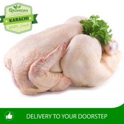 Fresh Full Chicken with skin approx 1.5Kg