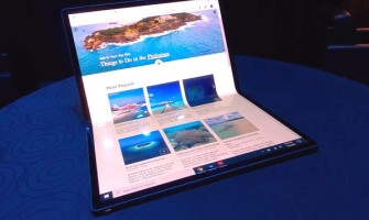 Intel powered Notebooks with foldable displays to launch in 2021