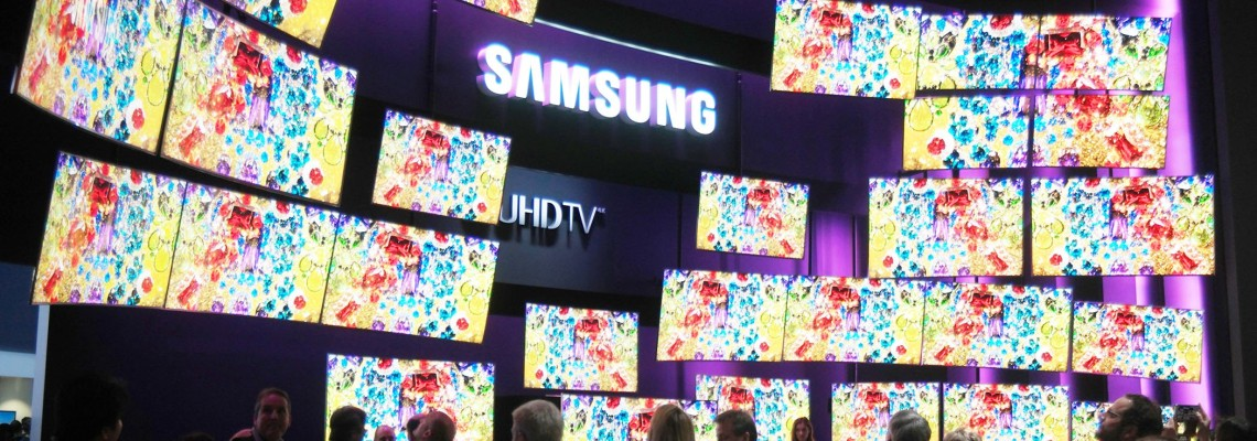 Samsung tops TV market for 15 years