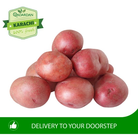 FRESH RED POTATOES 1KG (Large Size)